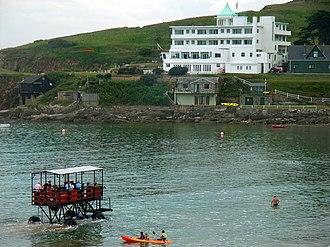Burgh Island Hotel - Burgh Island Hotel in 2005