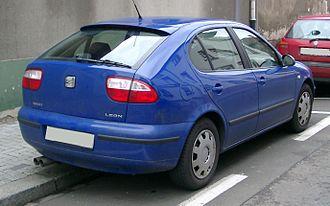 SEAT León - Rear view