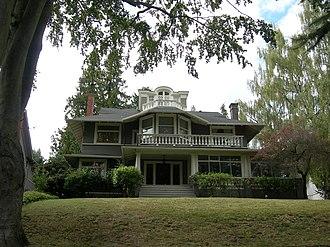 Richard A. Ballinger - Richard A. Ballinger House in Seattle, Washington