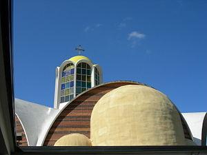 Paul Thiry (architect) - St. Demetrios Greek Orthodox Church, 1964–1968, Seattle, Washington