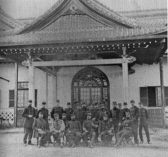 French military mission to Japan (1872–80) - The second French Military Mission to Japan (1872–1880).
