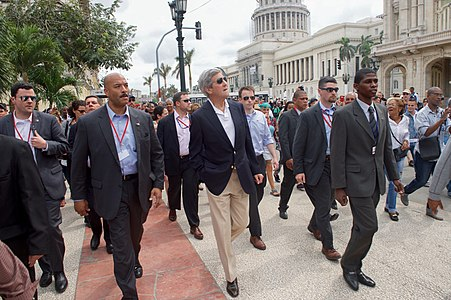Secretary Kerry Walks Past the National Capitol Building in Havana, Cuba (25699142120).jpg