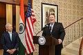 Secretary Pompeo Addresses U.S. Embassy India Staff in New Delhi (29575397917).jpg