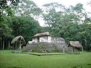 Classic Period archaeological site of the Maya civilization