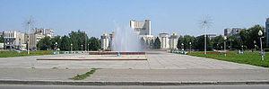 Semey - Image: Semey central square