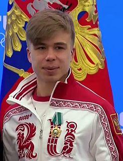Semion Elistratov Russian speed skater
