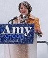 Senator Amy Klobuchar made her announcement to run for president in 2020 on a snowy Sunday at Boom Island Park in Minneapolis, Minnesota. (46331770554).jpg