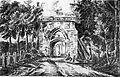 Senlis (60), ancienne porte Bellon, par E. Müller (1878, après p. 102).jpg