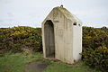 Sentry box, Battery Moltke, Les Landes.JPG