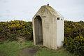 Sentry box, Battery Moltke, Les Landes.JPG