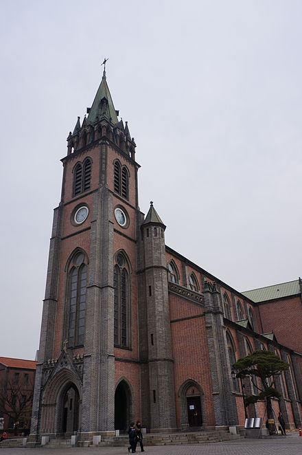 Myeongdong Cathedral Seoul Cathedral.jpg
