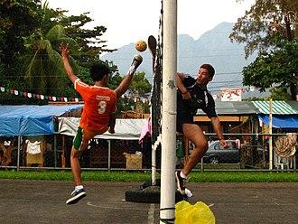 Sepak takraw - Image: Sepak Takraw (3828519859) (cropped)