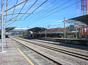 Serdang railway station - Serdang railway station
