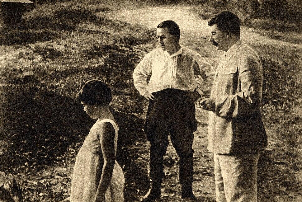 Sergei Kirov and Joseph Stalin, 1934