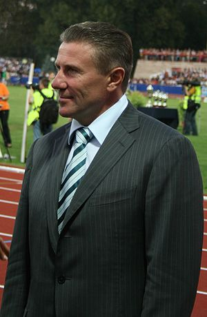 Sport in Ukraine - President of NOC Ukraine, Serhiy Bubka, a legendary Soviet and Ukrainian pole vault jumper