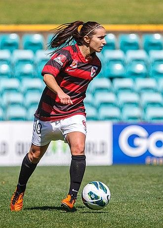 Servet Uzunlar - Uzunlar playing for the Western Sydney Wanderers