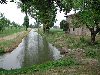 Province of Reggio Emilia - Typical Emilian countryside.