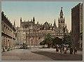 Sevilla. Plaza del Triunfo con la Catedral LCCN2017660792.jpg