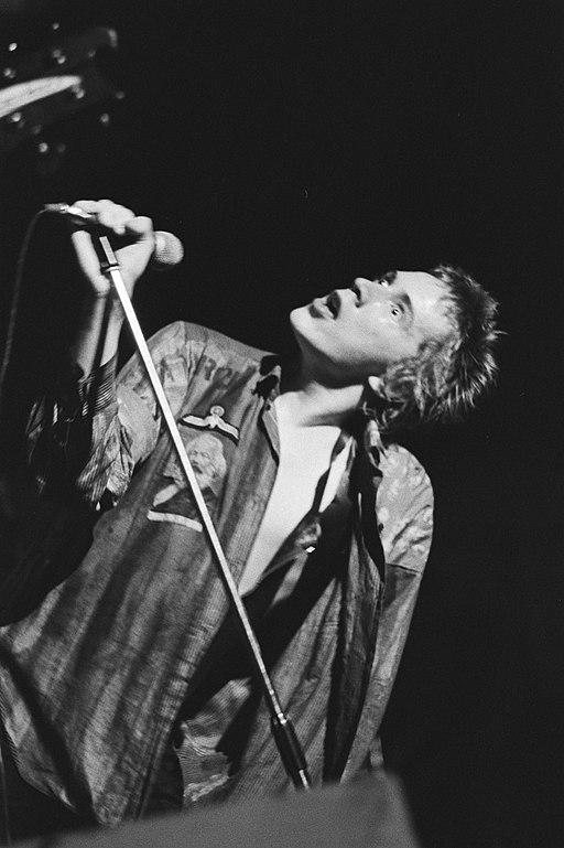 Sex Pistols in Paradiso - Johnny Rotten 1