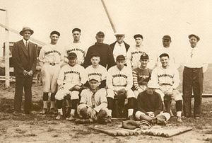 Shaunavon baseball team