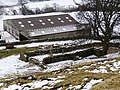 Sheep pens at Calvert Houses - geograph.org.uk - 1727737.jpg