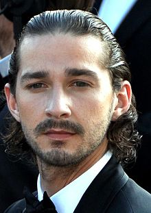 LaBeouf promoting Lawless at the 2012 Cannes Film Festival
