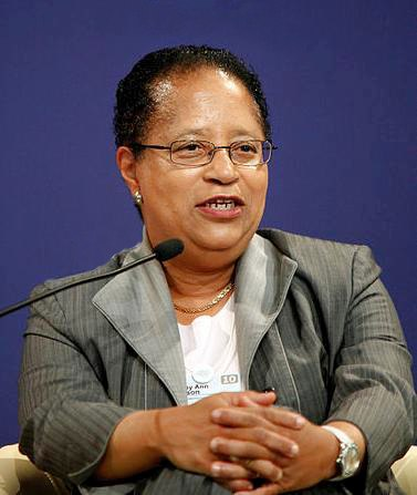 Shirley Ann Jackson World Economic Forum 2010