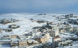 Ma'an Governorate - The town of Shoubak in Ma'an Governorate