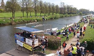 Pengwern Boat Club - ShrewsburyRegatta happens annually in May, and is arranged by Pengwern Boat Club