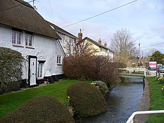 Shrewton, High Street - River Till - geograph.org.uk - 362120.jpg