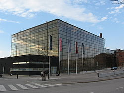 Sibelius Hall southeastern side.JPG