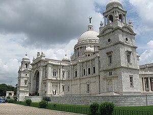 Makrana marble - Victoria Memorial in Kolkata