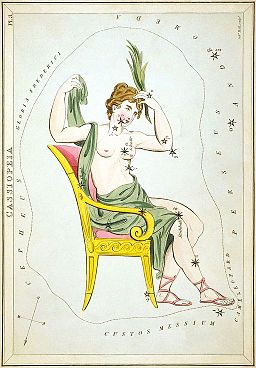 Sidney Hall - Urania's Mirror - Cassiopeia (image right side up)