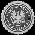 Siegelmarke Amt Roskow Kreis Westhavelland W0391010.jpg