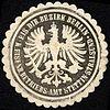 Siegelmarke Eisenbahn Direktions Bezirk Berlin - Königliche Eisenbahn Betriebs - Amt Stettin - Stralsund W0229472.jpg