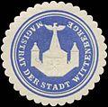 Siegelmarke Magistrat der Stadt Wittenberge W0349231.jpg