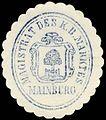 Siegelmarke Magistrat des Königlich Bayerischen Marktes Mainburg W0229422.jpg