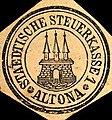 Siegelmarke Staedtische Steuerkasse 1 - Altona W0205555.jpg