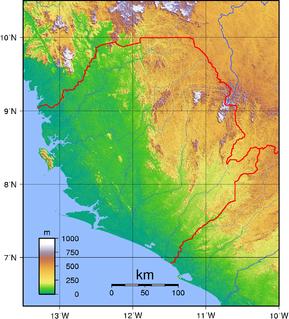 Geology of Sierra Leone