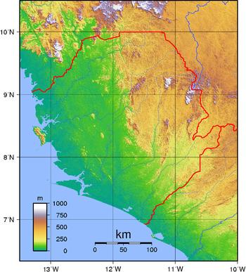 Geography of Sierra Leone Wikipedia
