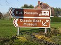 Sign for the Isle of Wight Bus Museum.JPG