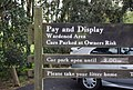 Sign in the car park, Seven Sisters Country Park - geograph.org.uk - 1067938.jpg