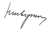 Signature of Nikolay Shvernik.png