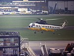 Sikorsky S-61N G-LINK operating the Gatwick - Heathrow's Airlink shuttle.jpg