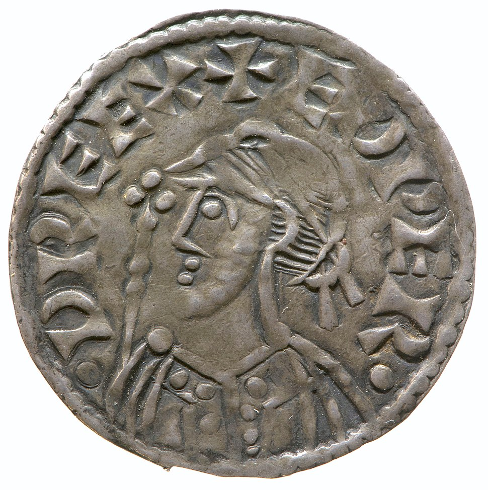 Silver penny of Edward the Confessor (YORYM 2000 702) obverse