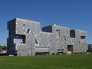 Steven Holl - Steven Holl's design for Simmons Hall of MIT won the Harleston Parker Medal in 2004.