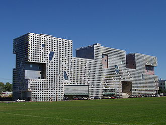 Steven Holl - Steven Holl's design for Simmons Hall of MIT won the Harleston Parker Medal in 2004.