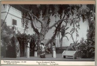 Simson och Delila, Kungliga teatern 1903. Föreställningsbild - SMV - H14 022.tif