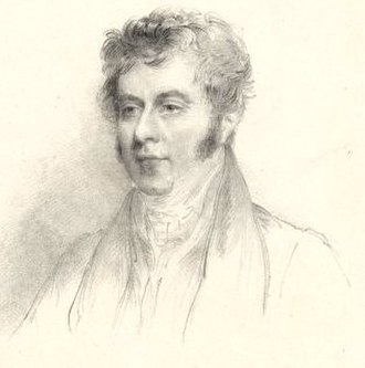 Robert Wilmot-Horton - Portrait of Wilmot-Horton in the 1820s  by Richard James