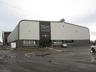 Museum of Transport and Technology - The building which houses the Sir Keith Park Memorial Aviation Collection at MOTAT 2